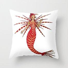 Lionfishmaid Throw Pillow