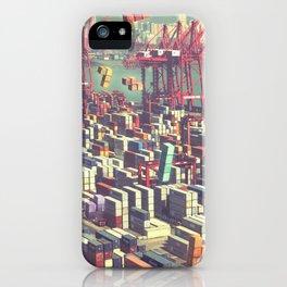 Pier Tetris iPhone Case