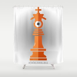 king eye Shower Curtain