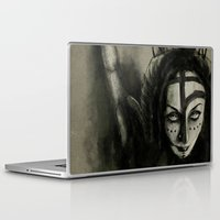 sister Laptop & iPad Skins featuring Sister by Juan Antonio Rz