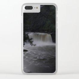 Mystic Cumberland Falls Clear iPhone Case