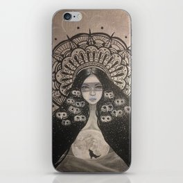 She Brings The Night iPhone Skin