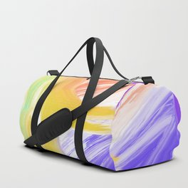 Abstract 2 Painting in Oil Duffle Bag