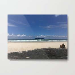 Waves of Brazil Metal Print