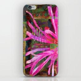 Electric Floral Burst iPhone Skin