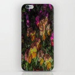 Violas on Table iPhone Skin