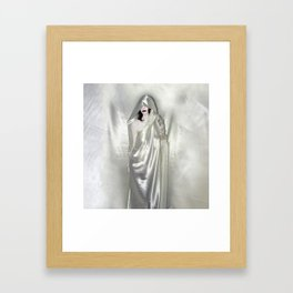 """say no to patriarchy / """"the justice"""" Framed Art Print"""