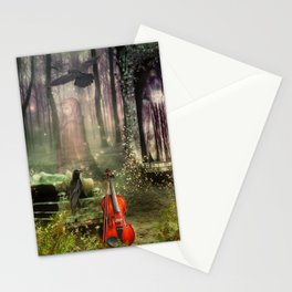 last song Stationery Cards