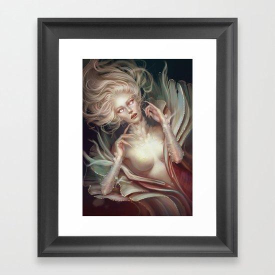 Soul Made of Glass Framed Art Print