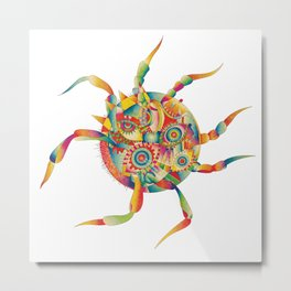 Spiderdream Metal Print