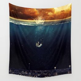 """""""Our Ends Are Beginnings"""" - Limited Print Wall Tapestry"""