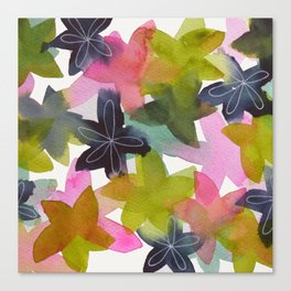 Kaleidoscope of Petals Canvas Print