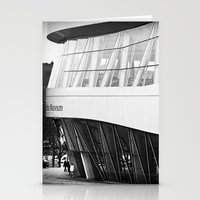 mercedes Stationery Cards featuring MERCEDES-BENZ MUSEUM by GL-ART-PHOTOGRAPHY