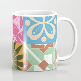Middle Eastern Tiles - Geometric Pattern Coffee Mug