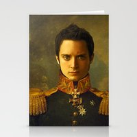 replaceface Stationery Cards featuring Elijah Wood - replaceface by replaceface