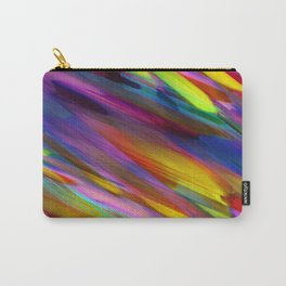 Colorful digital art splashing G398 Carry-All Pouch