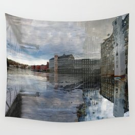 Newmarket Mills Abstraction Wall Tapestry