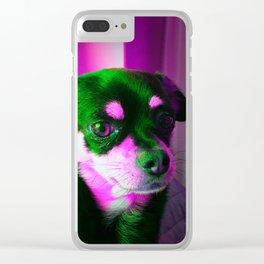 Sweet Chihuahua Clear iPhone Case