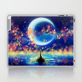 STARRY NIGHT MERMAID Laptop & iPad Skin