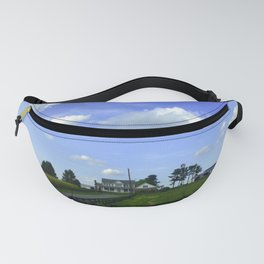 Scenic View Of Horse Farm In Damascus Maryland Fanny Pack