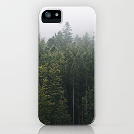 Into the Forest I go – Moody Landscape Photography iPhone Case