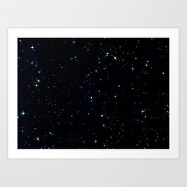 Rainbow Constellations Art Print