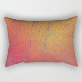 Auric Waves Rectangular Pillow
