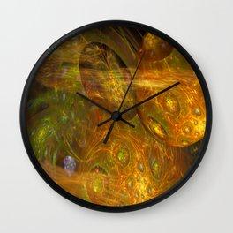 Exoplanet Nebula Wall Clock