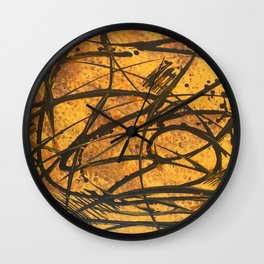 Sound of the Hive Wall Clock