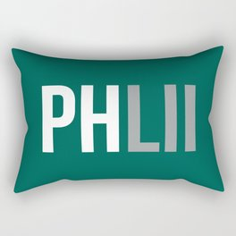 PHLII Philadelphia Rectangular Pillow
