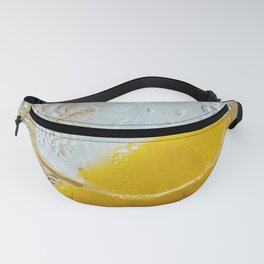 Lemon Slice and Ice Fanny Pack