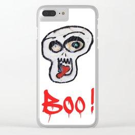 BOO! Clear iPhone Case