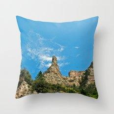 Lone Peak Throw Pillow
