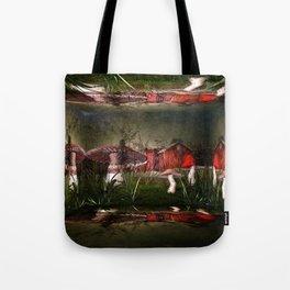 Magical Mushroom Farm Tote Bag