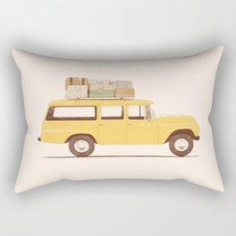 Summer Car Rectangular Pillow