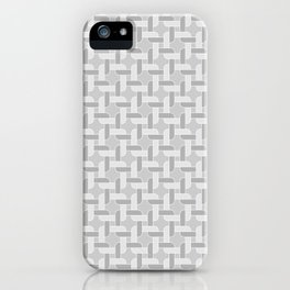 Linked Gray 8 iPhone Case