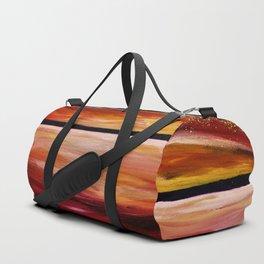 Dusky Seascape Duffle Bag