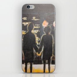 You Met Me At A Very Strange Time iPhone Skin