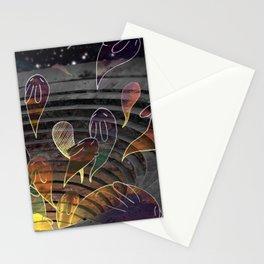 Ghost Bunnies Stationery Cards