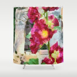 Althea Among The Ruins Shower Curtain