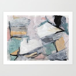 """The """"Oh"""" Abstract Art Print"""