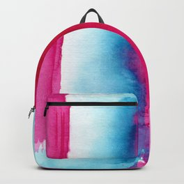 Pink vibes || watercolor Backpack