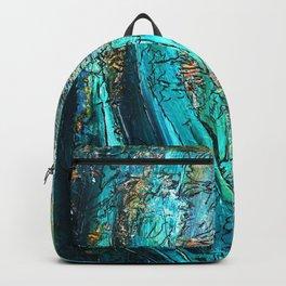 Doodle in blue Backpack