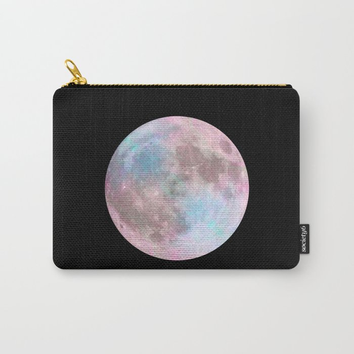 Iridescent Dark Moon Carry-All Pouch