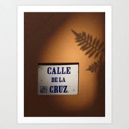 De la Cruz, Old San Juan Light Art Print