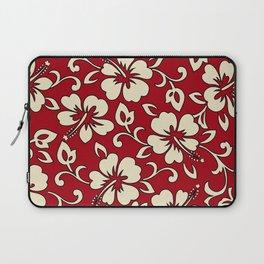 Malia Hawaiian Hibiscus Aloha Shirt Print Laptop Sleeve