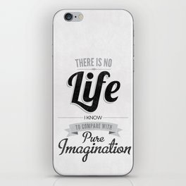 Pure Imagination iPhone Skin
