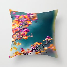 Happy autumn colors 2 Throw Pillow