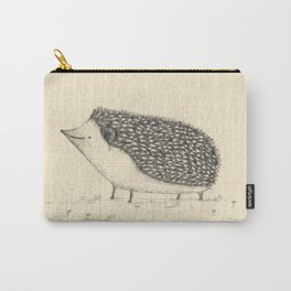 Monochrome Hedgehog Carry-All Pouch