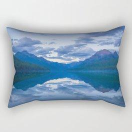 Bowman Lake Rectangular Pillow